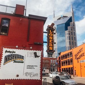Nashville Bar on Music Row in Midtown Nashville Called Losers