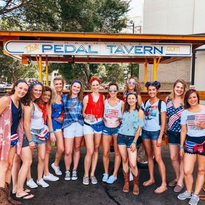 pedal pub fourth of july party