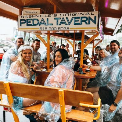 what to wear on a pedal pub when it rains