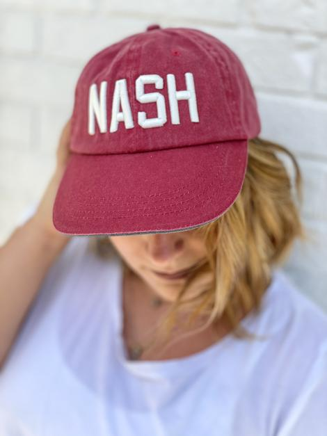 red Nash vintage ball cap
