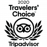 2020 Travelers' Choice Award from TripAdvisor